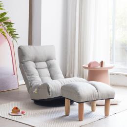 Single sofa reclining chair Japanese chair lazy sofa tatami balcony reclining chair leisure sofa adjustable chair
