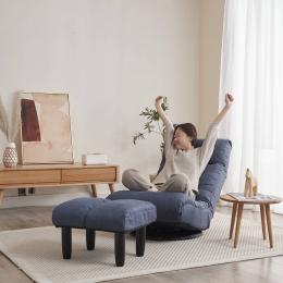 floor chair single sofa reclining chair Japanese chair lazy sofa tatami balcony reclining chair leisure sofa adjustable chair