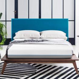8 Inches Gel & Charcoal Infused Memory Foam Mattress - Medium Comfort(Full)