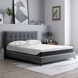 10 Inches Gel Memory Foam Mattress(King)-Medium Comfort