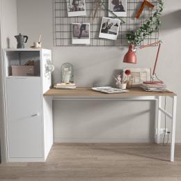 Metal storage cabinet with desk/File Cabinet/Metal Locker Office Cupboard for Bedroom/Living Room/Office
