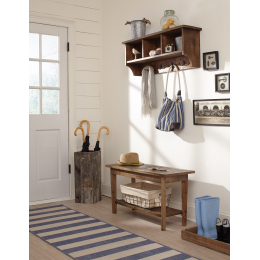Revive Storage Coat Hook with Bench Set